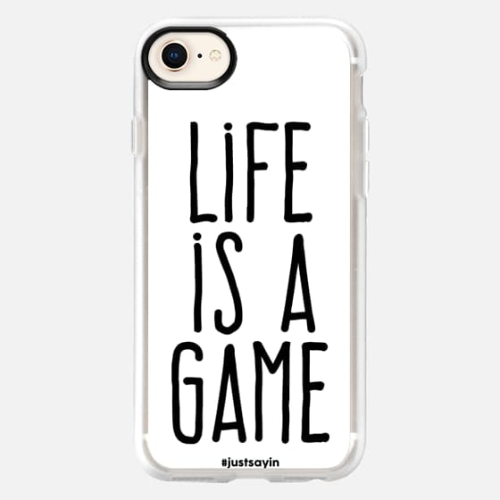 Life is a game - Snap Case