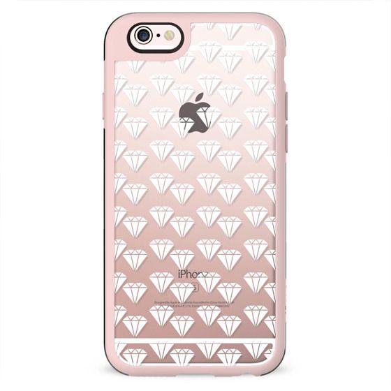 White diamonds pattern