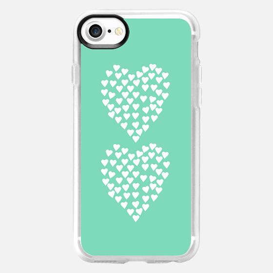 Hearts Heart x2 Mint -