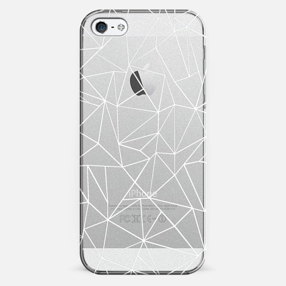 Abstraction Outline White Transparent