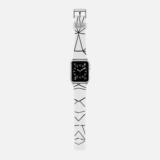 Abstract Lines Mirrored Watch -