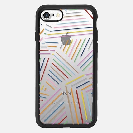 Ab Linear Rainbow Transparent -