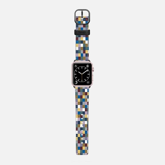 L Squares 2 #2 - Saffiano Leather Watch Band
