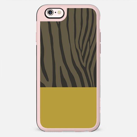 Zebra Mustard - New Standard Case