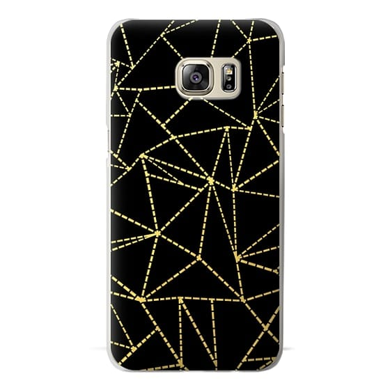 iPhone 7 Cases - Ab Dotted Lines Gold