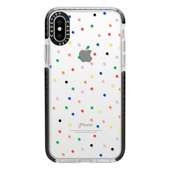 iPhone X Cases - Candy Transparent