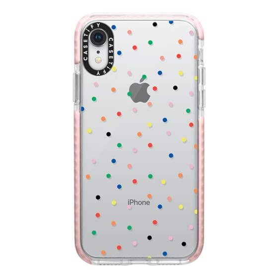 iPhone XR Cases - Candy Transparent