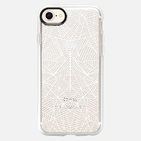 Abstract Lace Transparent - Snap Case