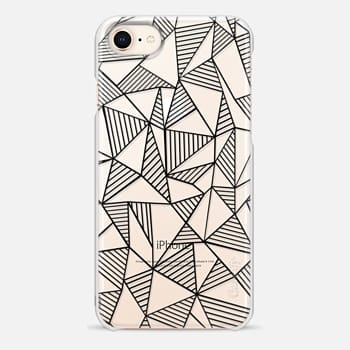 iPhone 8 Case Abstraction Lines
