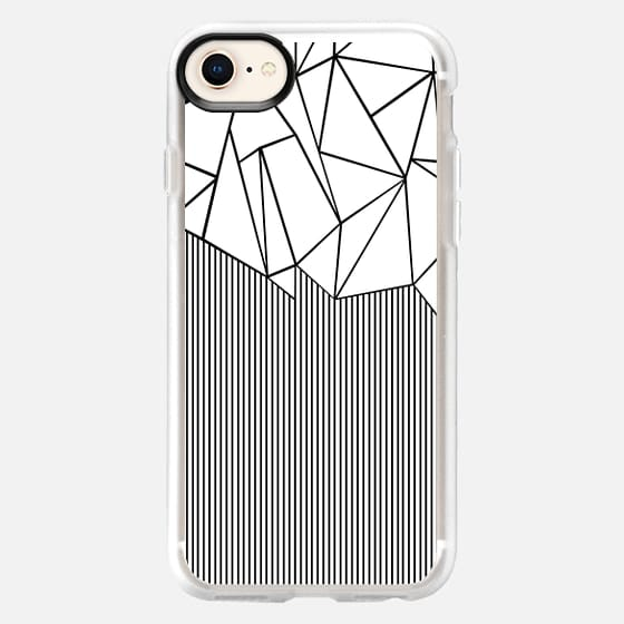 Ab Lines White - Snap Case
