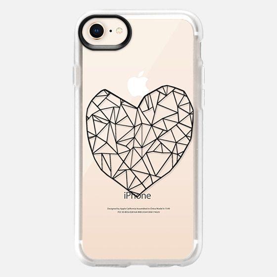 Broken Heart Transparent #3 - Snap Case