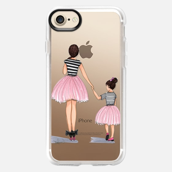 Mother Daughter ballerinas - Wallet Case