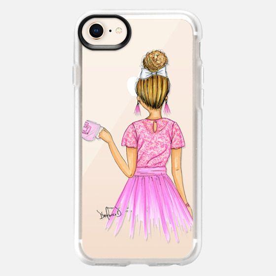 Pink fashion addict - Snap Case