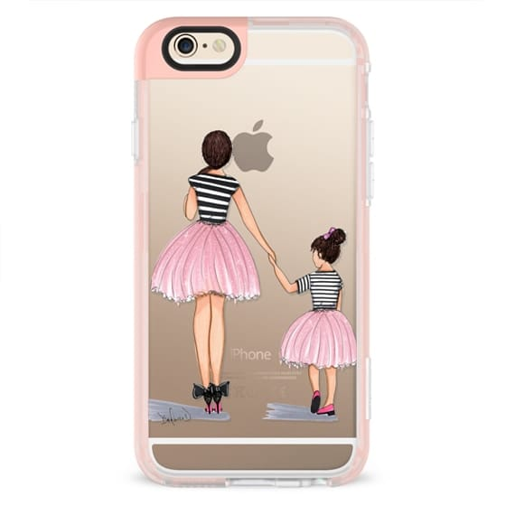 iPhone 4 Cases - Mother Daughter ballerinas