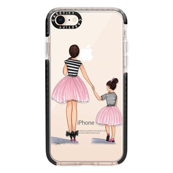 iPhone 8 Cases - Mother Daughter ballerinas