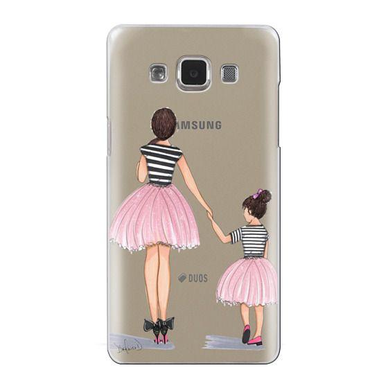 Samsung Galaxy A5 Cases - Mother Daughter ballerinas