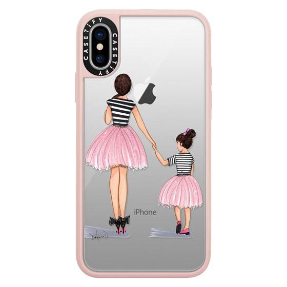iPhone X Cases - Mother Daughter ballerinas