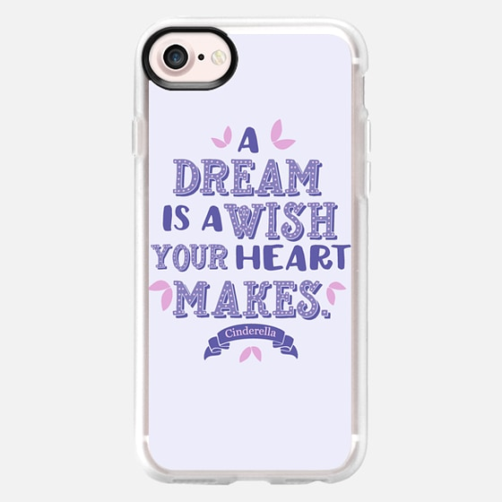 Cinderella - A Dream is a Wish your Heart Makes - Purple - Wallet Case