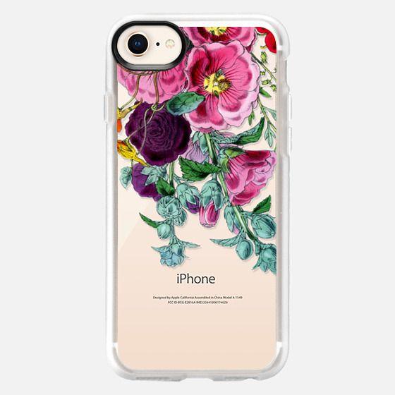 Vintage Pink Florals - Snap Case