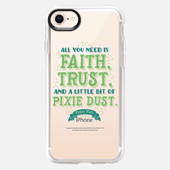 Peter Pan - Disney - Faith, Trust, Pixie Dust - Snap Case