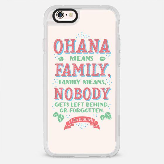 Lilo & Stitch - O'hana means Family - New Standard Case