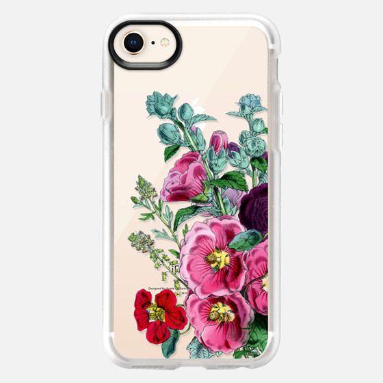 Vintage Pink Florals #2 - Snap Case