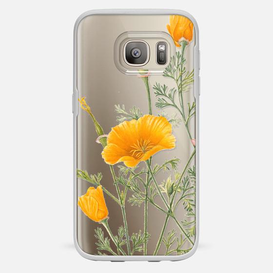 Galaxy S7 Case - California Poppies