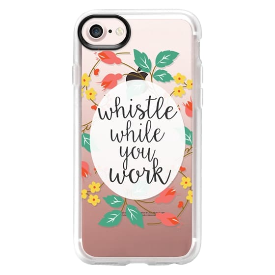 quality design 79307 7ac51 Impact iPhone 7 Case - Whistle While You Work - Snow White