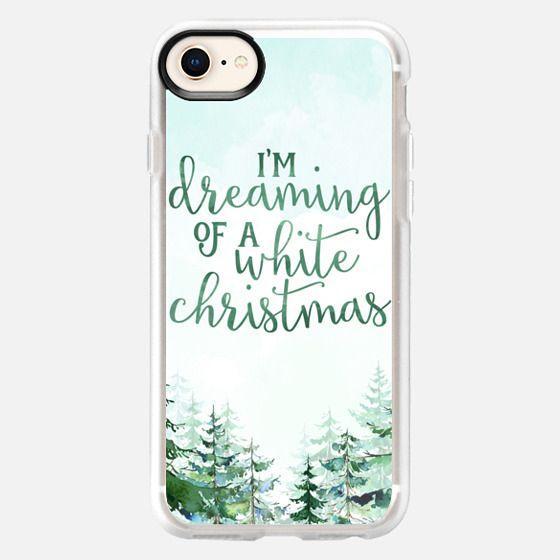 White Christmas - Snap Case