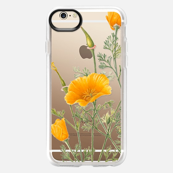 iPhone 6s Case - California Poppies