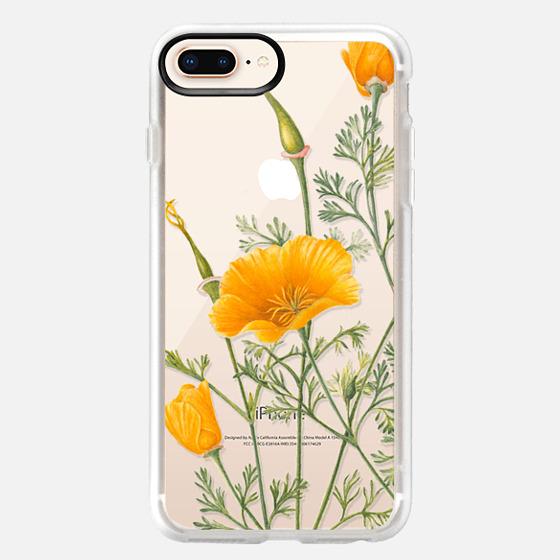 iPhone 8 Plus Case - California Poppies