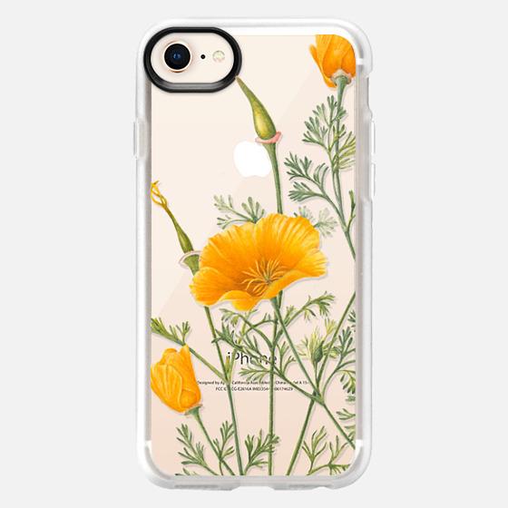 iPhone 8 Case - California Poppies