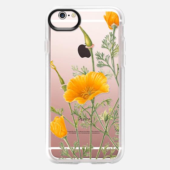 iPhone 6s ケース - California Poppies