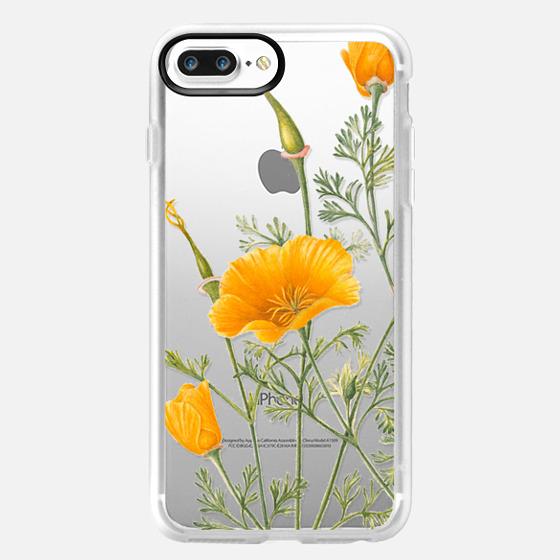 iPhone 7 Plus 保護殼 - California Poppies