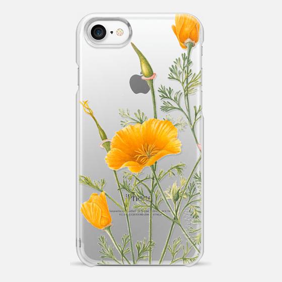 iPhone 7 保护壳 - California Poppies