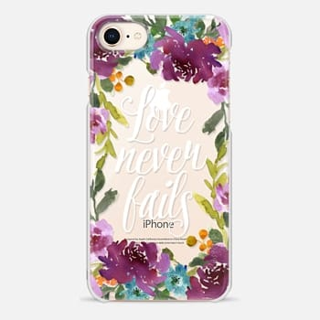 iPhone 8 Case Love Never Fails