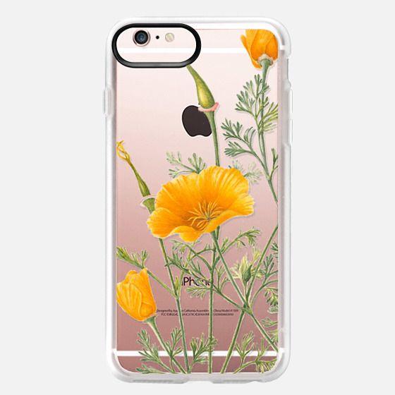 iPhone 6s Plus Case - California Poppies