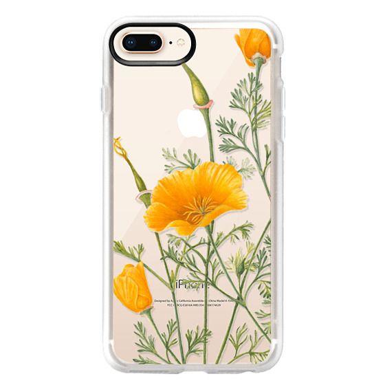 iPhone 8 Plus ケース - California Poppies