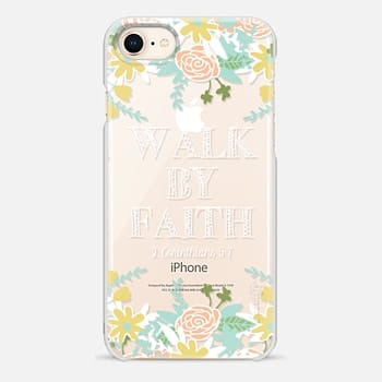 iPhone 8 Case Walk By Faith