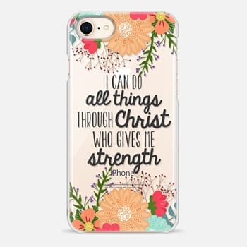 iPhone 8 Case I Can do All Things