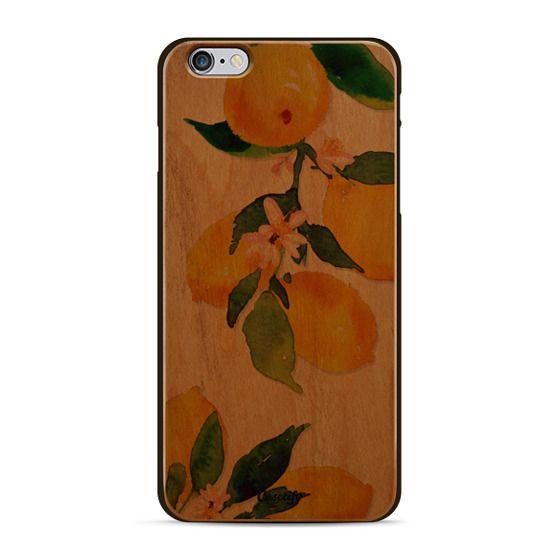 Watercolor Lemon Blossoms