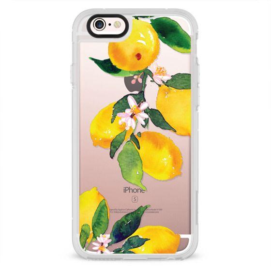 iPhone 6s Cases - Watercolor Lemon Blossoms