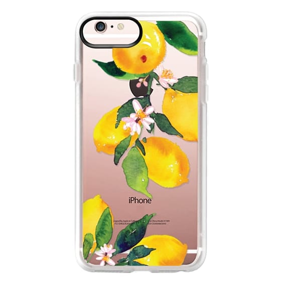 iPhone 6s Plus Cases - Watercolor Lemon Blossoms