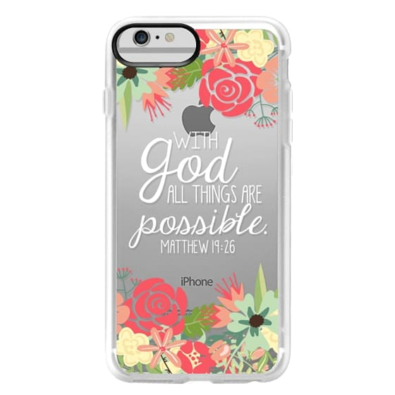 iPhone 6 Plus Cases - All Things are Possible