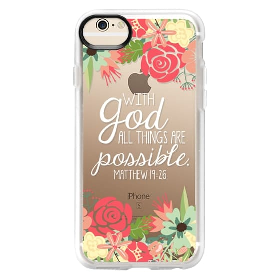 iPhone 6 Cases - All Things are Possible