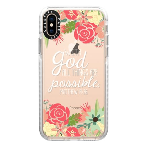 iPhone XS Cases - All Things are Possible
