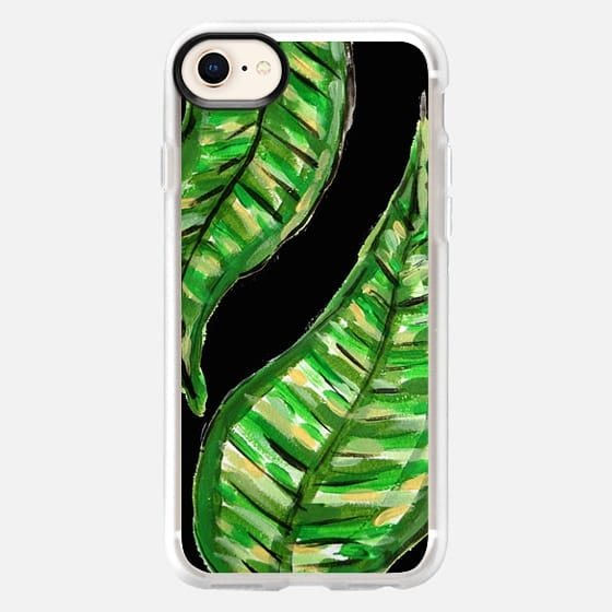 Artful Leaves Black - Snap Case