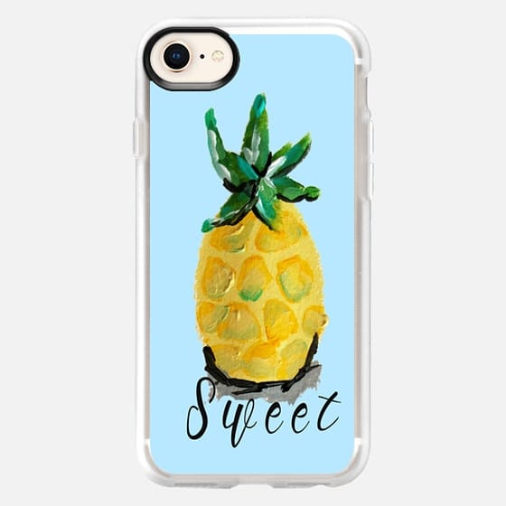 Pineapple Blue - Snap Case