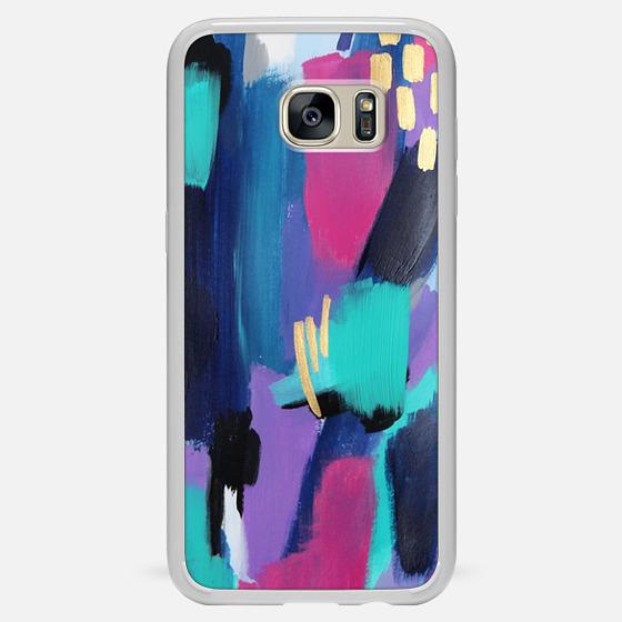 Galaxy S7 Edge Hülle - Glitz + Glam