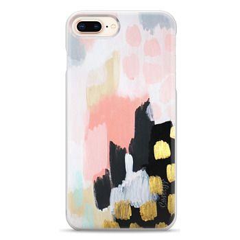 Snap iPhone 8 Plus Case - Footprints